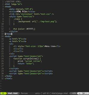 Lizard - HTML | HTML file with lizard colorscheme | gilsondev | Flickr