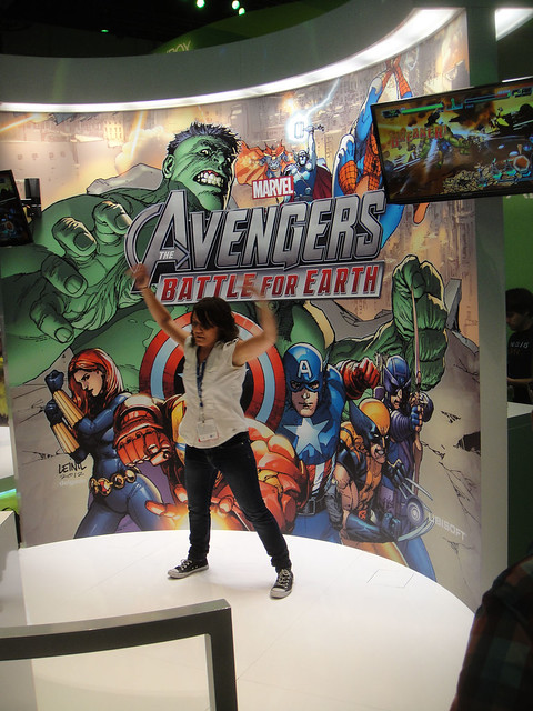 E3 Expo 2012 - Microsoft booth - Avengers Battle for Earth