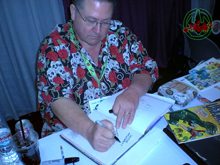 San Diego Comic-Con 2012; SCOTT SHAW DRAWS | by tOkKa