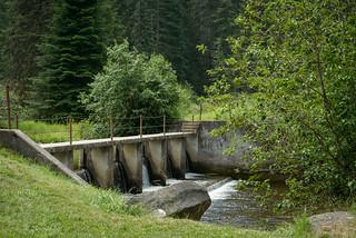 Palouse River CCC Dam