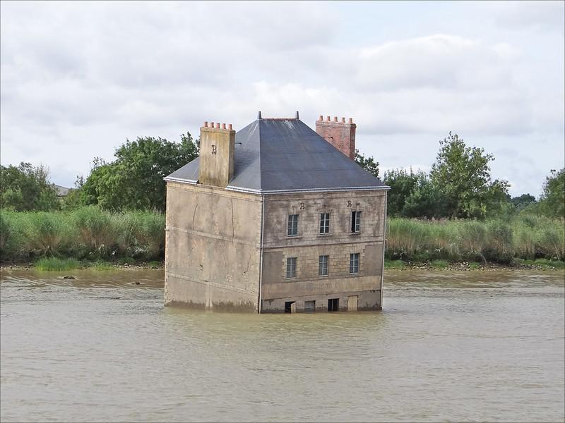 La maison dans la Loire (Estuaire, Couëron)