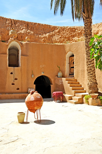 Tunisia-3533 - Main courtyard of the Hotel. | by archer10 (Dennis)