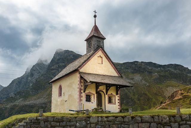 Südtirol, Kapelle am Jaufenhaus