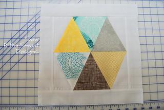 Framed Hexagon