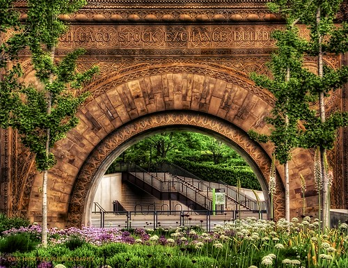 Chicago Stock Exchange Arch [Explored] | by Fab05