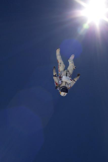 Felix Baumgartner © Luke Aikins/Red Bull Content Pool