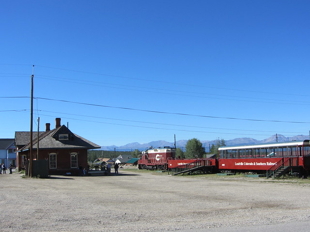 At the Leadville Station