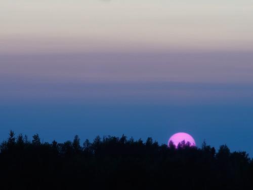 sun lake alaska big haze dusk olympus konica hexanon horshoe nset aerogami