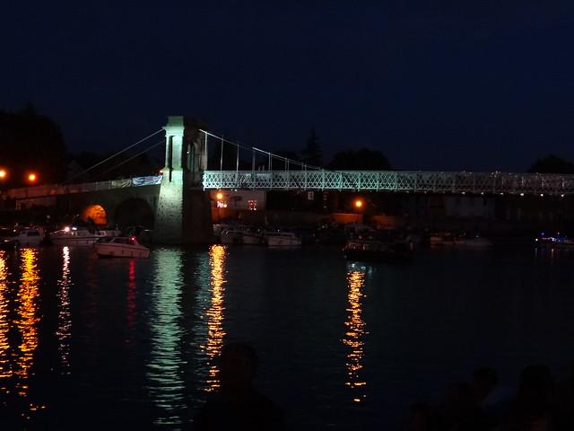 Wilford Suspension Bridge, Nottingham. Aug 2012