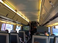 日, 2012-07-29 13:02 - ケベック行き電車の車内