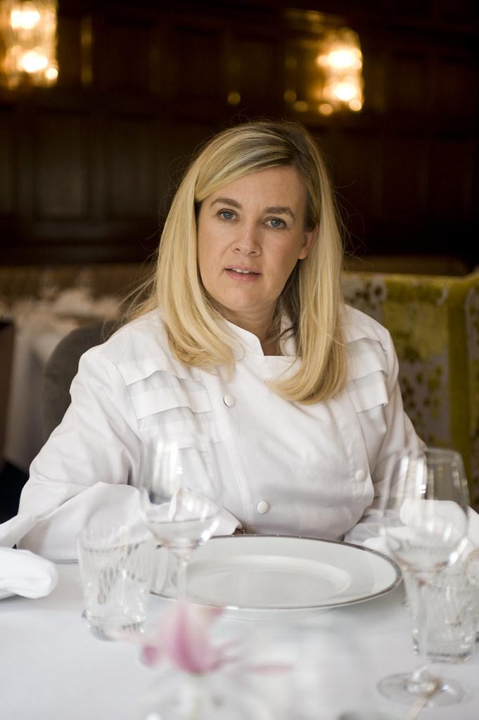 2 Michelin Star Chef Helene Darroze Connaught Hotel Lon