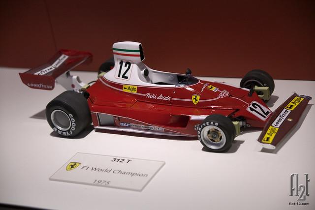 Ferrari 312-T, diecast