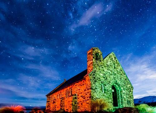 Lake Tekapo Church Stars-7 | by Quick Shot Photos