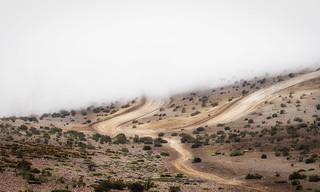 Wall of fog.