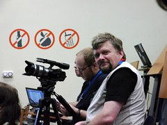 film crew - thanks for your support of akademy!