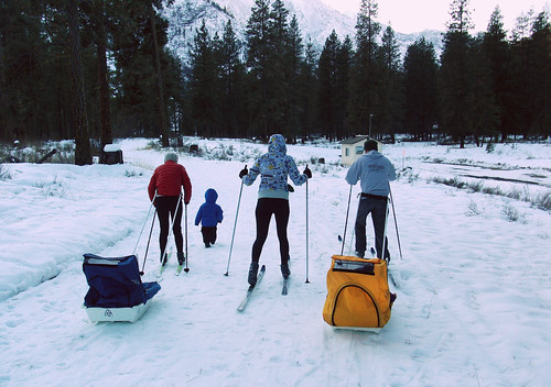 Nordic Skiing Pre Season at the Leavenworth Fish Hatchery | by ospreyraftingco