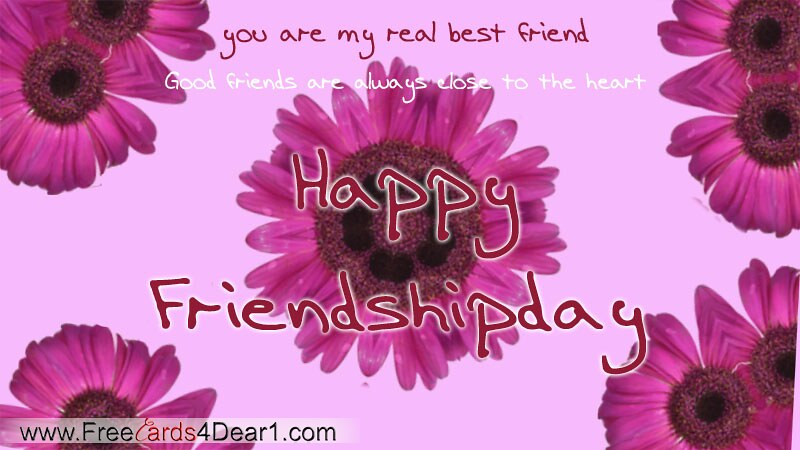 You Are My Real Best Friend Happy Friendship Day Card Flickr