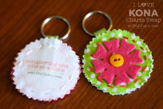 Hand Sewn Keychain