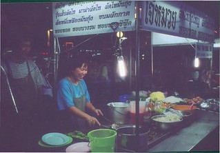 Food stall in KL Little India