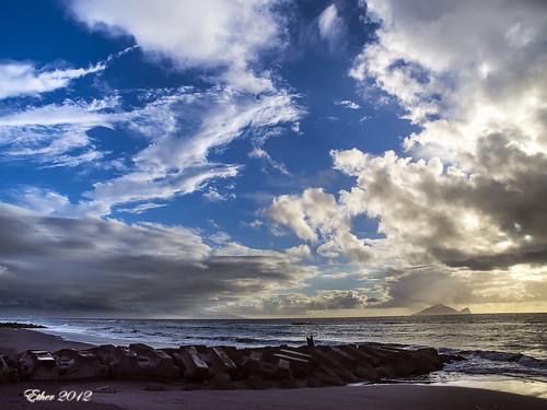 sea sunrise island dawn olympus 海 宜蘭 daybreak ether 龜山島 日出 em5 龜山朝日 etherhuang