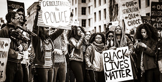 Demilitarize the Police, Black Lives Matter | by Johnny Silvercloud
