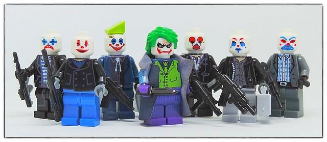 Joker and his mercenaries