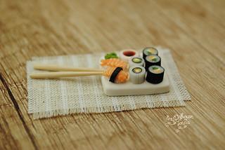 sushi_salmon | by Zhanna Zolotina