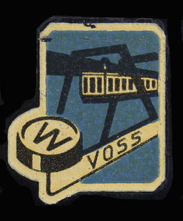 Voss typewriter logo | by shordzi