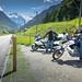 Alpine riders by Motographer