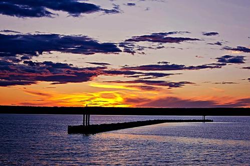sunset lake water wisconsin clouds bay great superior ashland lightroom chequamegon a55 mygearandme mygearandmepremium mygearandmebronze picmonkey