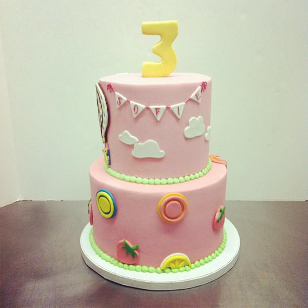 Awe Inspiring Hot Air Ballon Birthday Cake Austin Customcake Polkadots Funny Birthday Cards Online Necthendildamsfinfo