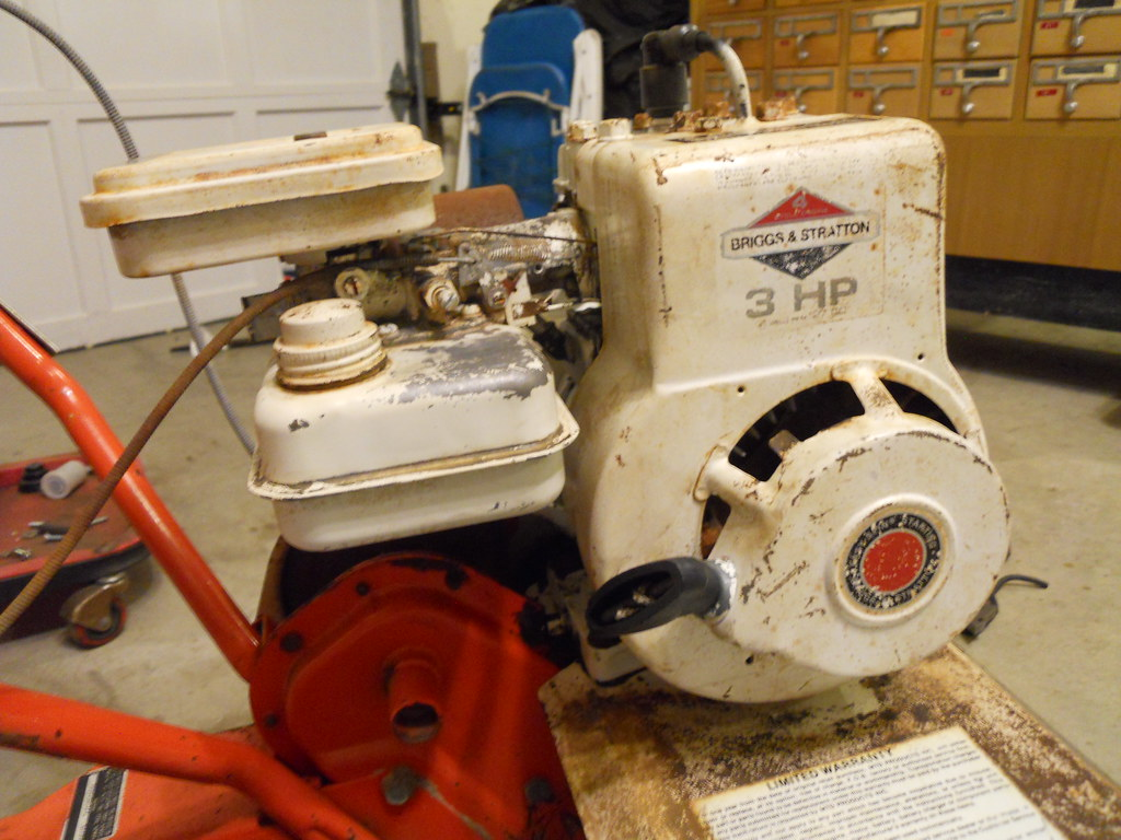 3HP Briggs & Stratton | 3hp Briggs & Stratton horizontal sha… | Flickr