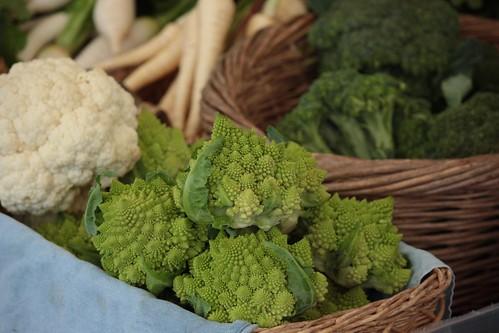Romanesco broccoli, Waimea farmer's market | by troymckaskle