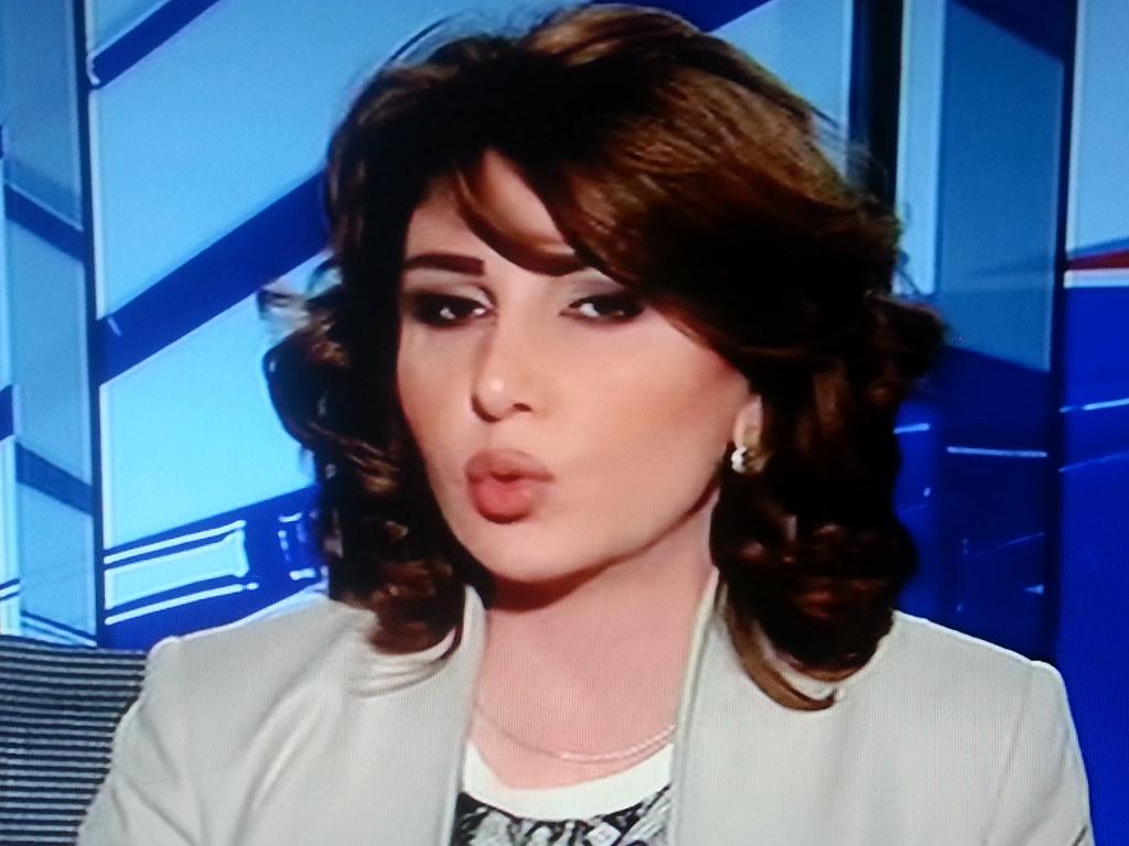 1# The first presenter in the Arabiya Arab news channel
