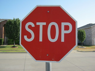 stop sign | by Clover Autrey