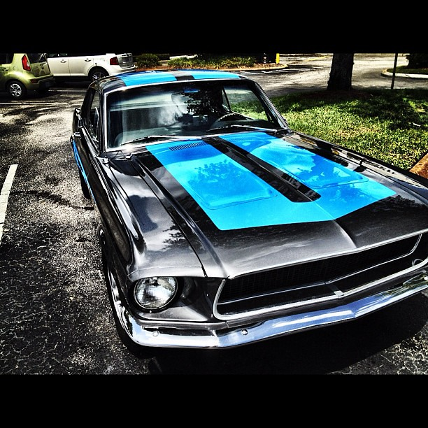 Buddy has a sick whip! #mustang #classic #car #cars #insta