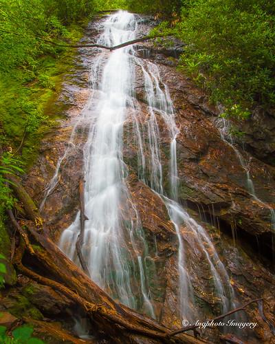 usa nature water franklin us waterfall nc augphotoimagery