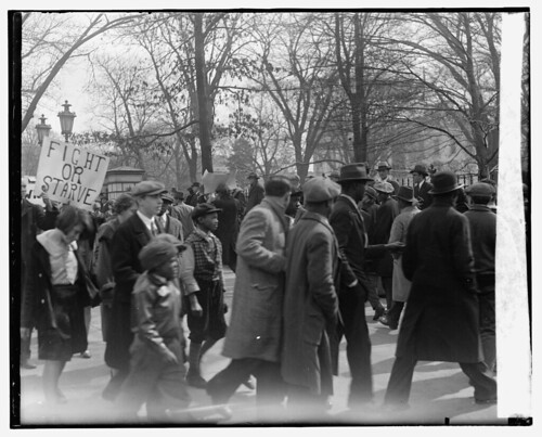 Blacks, Whites Protest Job Losses: 1930 No. 1 | by Washington Area Spark