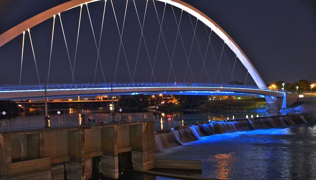 Riverwalk Bridge, DesMoines Iowa