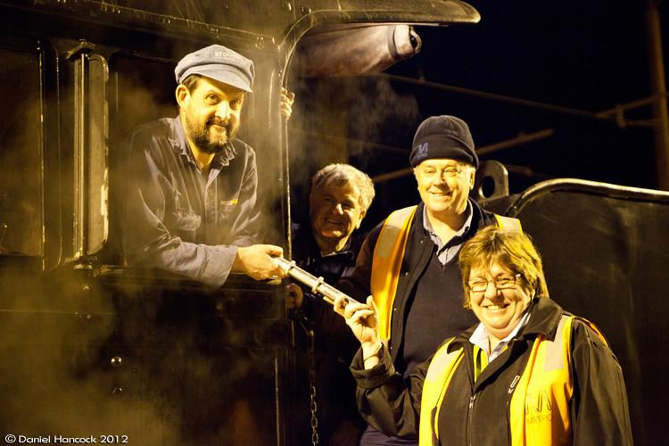 The last steam loco to recieve the STAFF out of Hurstbridge by Dan Hancock