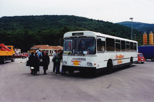 Gräf & Stift GSÜH 240 M 12 Čazmatrans BJ-538-AV Ile de Hvar Croatie Hrvatska 1998a
