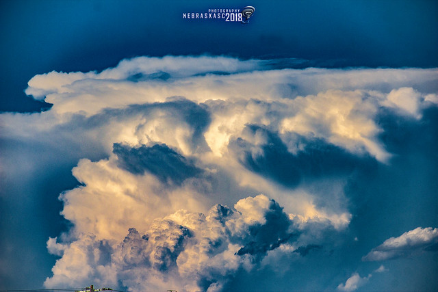 052518 - Billowing Cumulonimbus Calvus