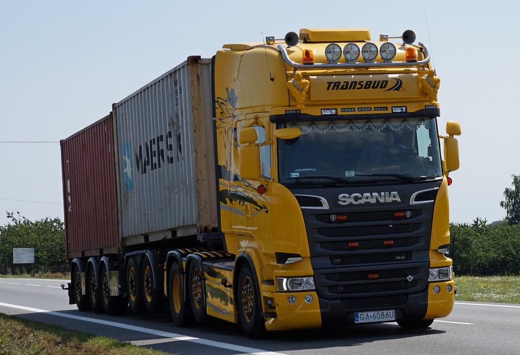 Scania R730 V8 Streamline Transbud [PL] | Marcin Trzmiel | Flickr