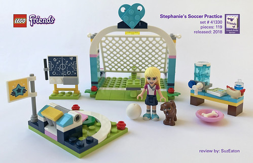 Review: 41330 Stephanie's Soccer Practice | by SuzEaton