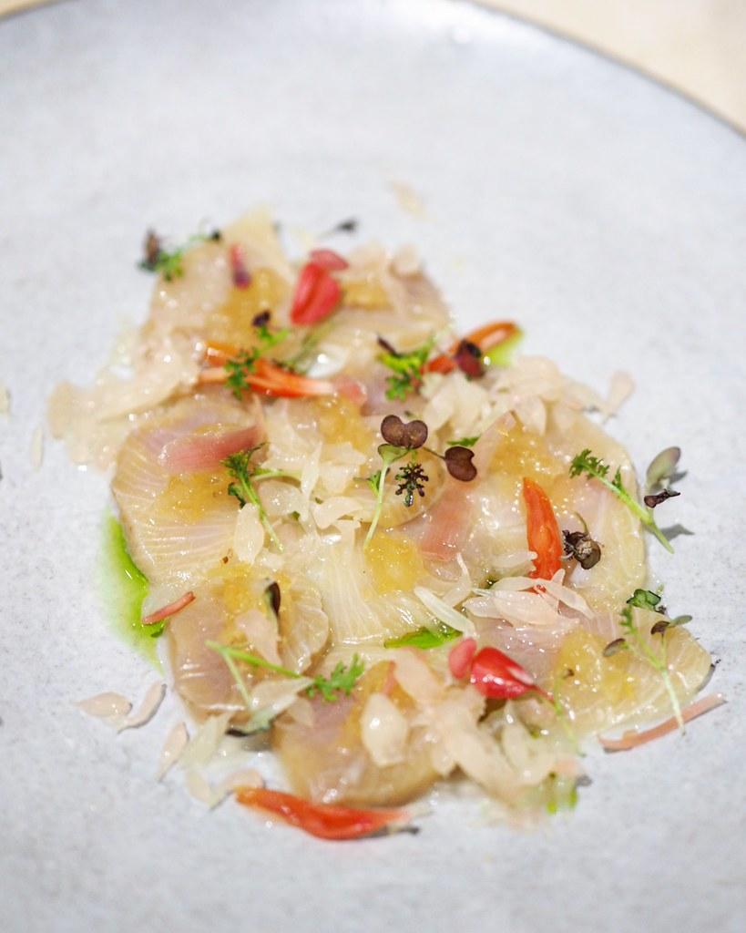 Citrus Cured Hamachi Derrick Tan Flickr
