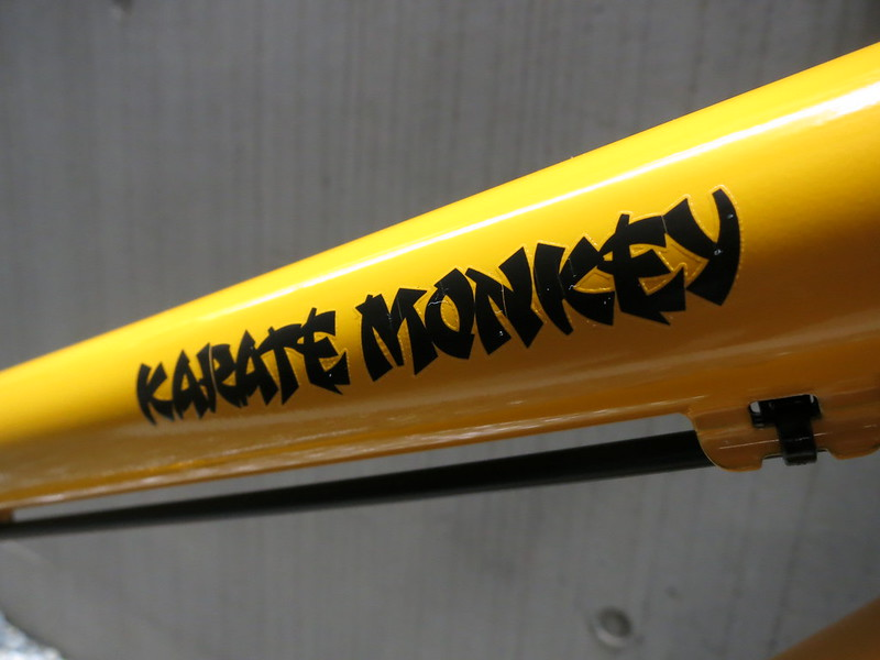 Karate Monkey YL 275 White Logo 2