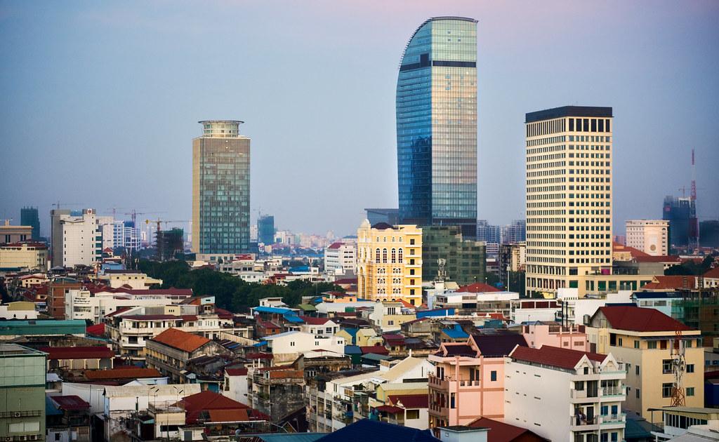 Image result for phnom penh city scape