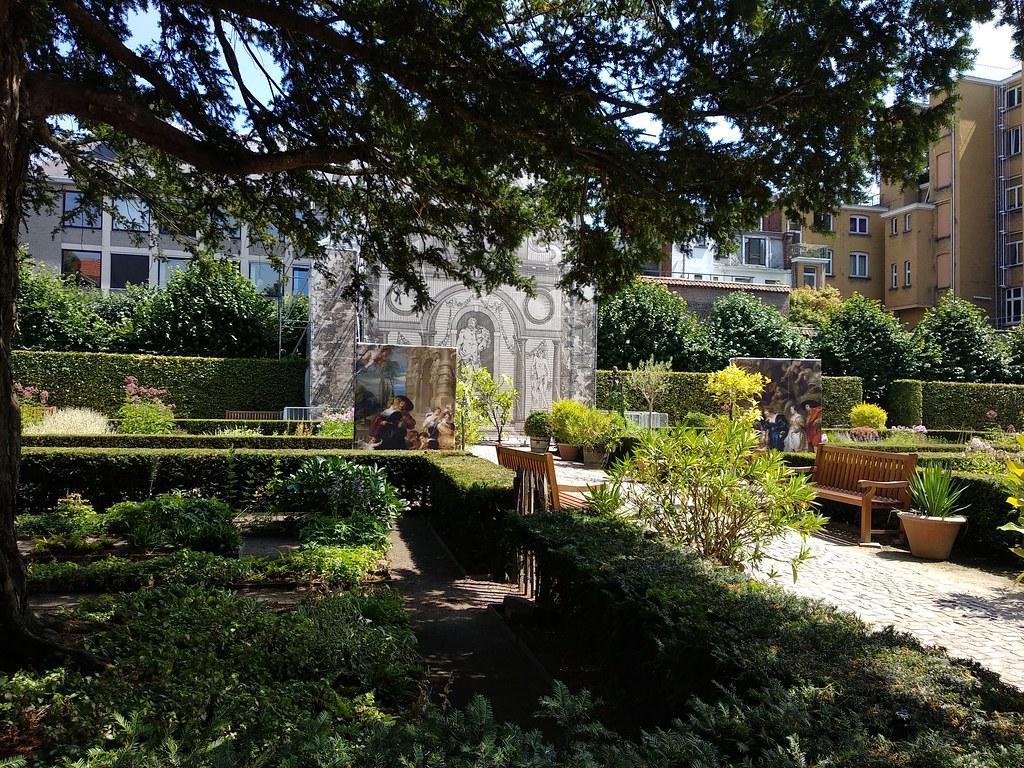 Jardin casa de Rubens