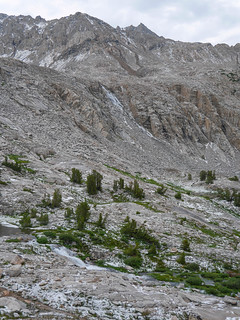 Swollen waterfalls and a dusting of hail   by snackronym