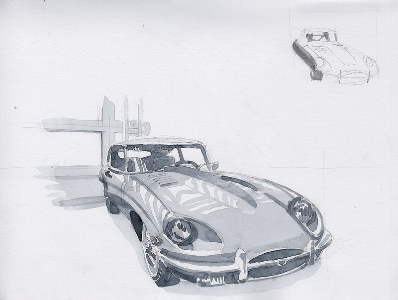 Jaguar E-Type E-S1,5 1967